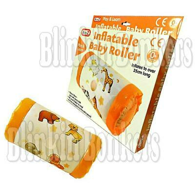 Inflatable Baby Roller Crawling Activity Play Toy Music Rattle Sound Uk Seller • 5.29£