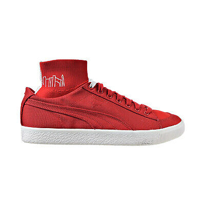 Puma Manhattan Portage Clyde Sock Men's Casual Sneakers High Risk Red 366185-02 • 36.18£