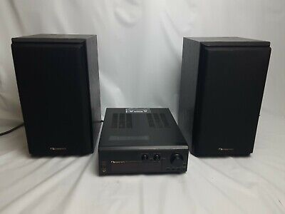 $249.99 • Buy NAKAMICHI Compact Music System RE-5 Receiver & SP-5 Speakers With Remote TESTED