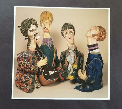 £28.39 • Buy Gerald Scarfe  The Beatles  Mounted Off-set Color Lithograph 1998