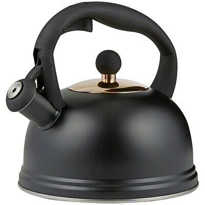 AU47 • Buy NEW Typhoon Otto Stove Top Kettle Black 2L