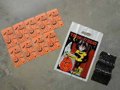 $ CDN5.28 • Buy Lot VTG Halloween Paper Treat Sacks Bags AGC American Greeting Card Collegeville