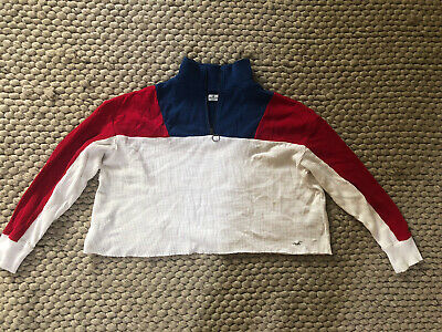 AU10 • Buy Hollister Cropped Jumper - Womens Size M