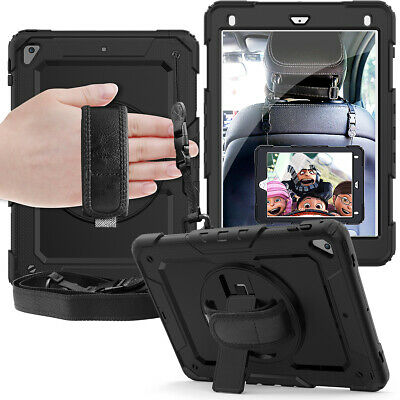 AU44.99 • Buy Apple IPad 7th 6th Air Mini Pro Protective Hand & Shoulder Strap Shockproof Case