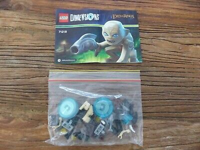 AU19.99 • Buy LEGO Dimensions Lord Of The Rings Gollum Fun Pack 71218 - Complete (No Box)!