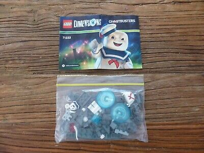 AU34.99 • Buy LEGO Dimensions Ghostbusters Stay Puft Fun Pack 71233 - Complete (No Box)!