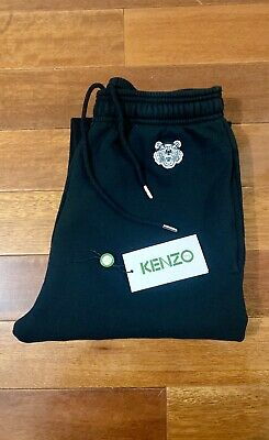 AU79 • Buy KENZO Paris Black Tiger Patch Track Pants. Size S. Supreme Stone Island Wtaps