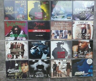 X16 Rap CD Singles Eminem, Snoop Dogg, Busta Rhymes, Coolio, 2 Pac • 9.99£