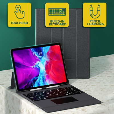 AU68.88 • Buy 【Premium】Ultra-Thin IPad Pro 11  12.9 2020 Trackpad Touchpad Keyboard Case Cover