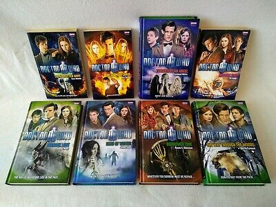 8 DOCTOR WHO  Books. 5 Hardback/3 Paperback. RRP £5.99/£6.99. Good Condition • 25£