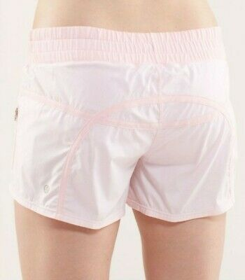 $ CDN94.15 • Buy Lululemon Size 12 Tracker Shorts II Blush Quartz Pink Perfect