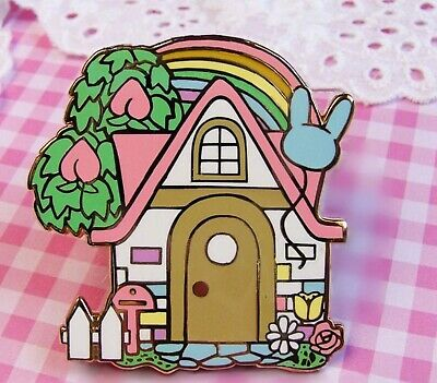 Animal Crossing Pin Badge VILLAGERS HOUSE Animal Crossing House Enamel Badge  • 3.99£