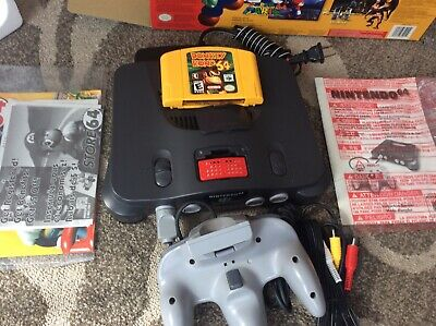 $ CDN390 • Buy N64 Nintendo 64 System Console Complete In Box Tested Working Read Description