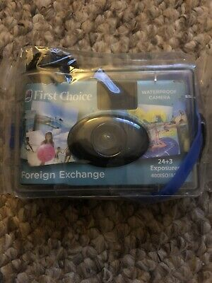 £7.99 • Buy Disposable Underwater Camera First Choice Holiday, Still Sealed.