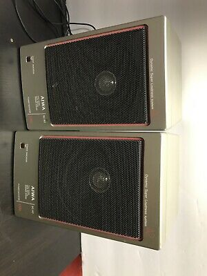 $53 • Buy Vintage Rare AIWA SC-A2 Full Range Bass Reflex Speaker System, Tested And Work!