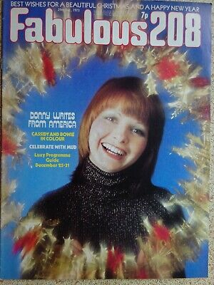 £12 • Buy Fabulous 208 Magazine. .29th.December 1973...VINTAGE COLLECTABLE MUSIC MAGAZINE.
