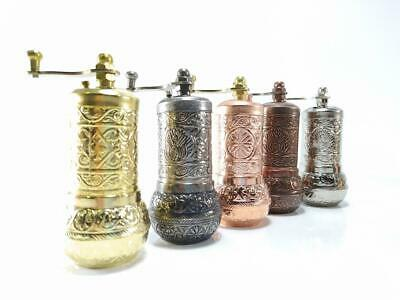 £7.99 • Buy Traditional Turkish Pepper Salt Coffee Spice Grinder Mill 4.3 Inch UK Stock
