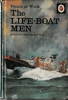 Ladybird Books: Series 606B, People At Work, The Lifeboat Men • 3.99£