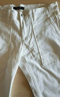 £13.99 • Buy Reply. Girls Replay X4 Pockets 3/4 Jeans White Age 14 New