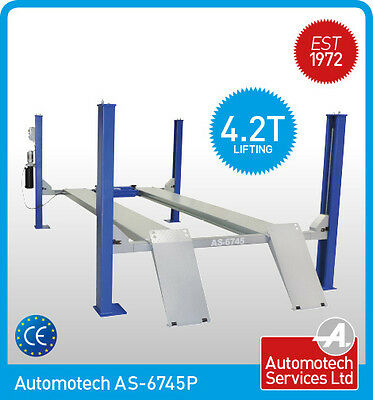 4 Post  Lift / Four Vehicle Car Ramp / Hoist 4.2 Ton, With Jack Beam *new* • 2,940£