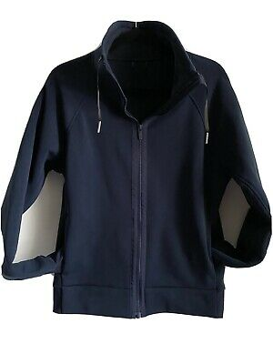 $ CDN55 • Buy Lululemon Fleece Blue Jacket Zip Up Yoga Size 10