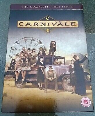 Carnivale - The Complete First Series (DVD, 2005, 6-Disc Set, Box Set) • 4£