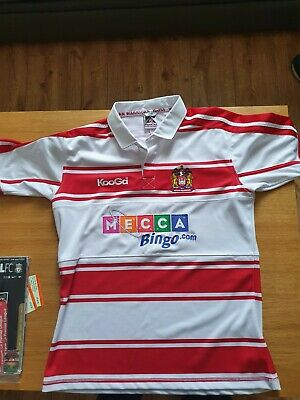 Wigan Warriors Rugby League 2009 Home Shirt Large New Without Tags • 25£