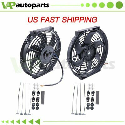 $37.39 • Buy Radiator Condenser Cooling Fan 10  Inch Universal For Chevrolet Astro Tahoe