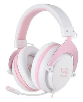 AU49 • Buy SADES PINK MPOWER PS4 Xbox One Nintendo Switch Gaming Headset Chat Mic Girls