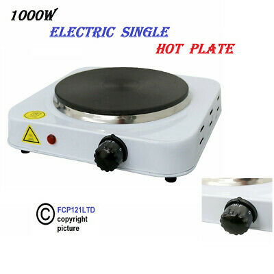 £13.85 • Buy 1000W Single Portable Electric Hot Plate Cooking Hob Stove Cooker Boiling Ring