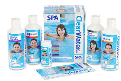 Clearwater Pool Chemical Cleaner Starter Kit • 37.99£