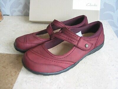 £23.99 • Buy New Clarks Genarch Daisy Soft Leather Shoes Pumps Size 4.5