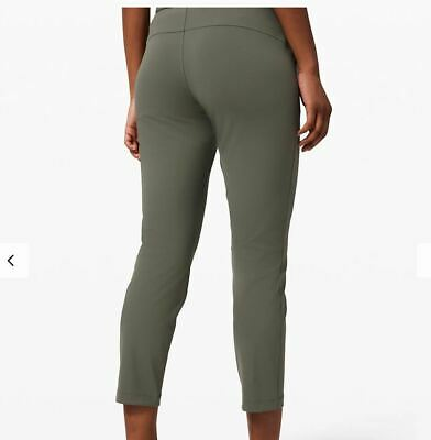 $ CDN99.99 • Buy Lululemon Nwt On The Fly 7/8 Pant Sz 6 Grey Sage 27  Travel Office Free Ship!