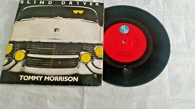 TOMMY MORRISON Blind Driver 7  VINYL ~ Real 1979  ARE 8 ~ VV Good Picture Sleeve • 4.75£