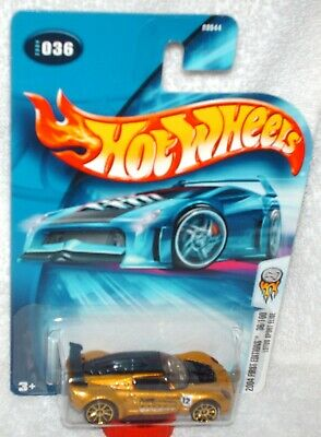 $ CDN2.64 • Buy Hot Wheels 2004 First Editions #36 Lotus Sport Elise Gold, Black Base,gold 10 Sp
