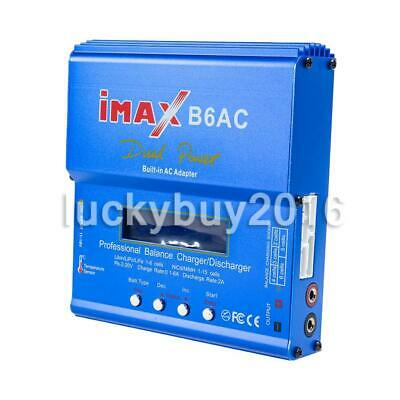 AU43.89 • Buy IMax B6AC 80W RC Lipo NiMh Digital Battery Balance Charger Discharger Control