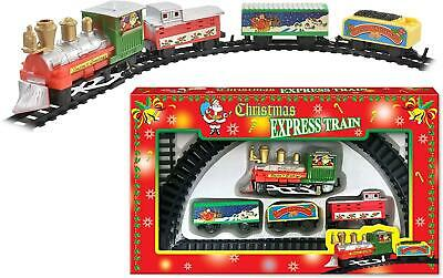 Deluxe Christmas Santa Train Set Toy With Lights & Sounds Christmas Decorations • 6.69£