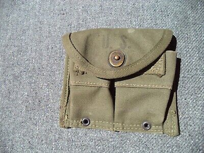 $ CDN18.62 • Buy WW2 US Army USMC M1 Carbine Magazine Pouch Regal Rugs 1945