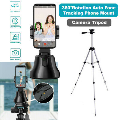 AU24.95 • Buy Wireless 360° Auto Face Tracking Camera Phone Mount Adjustable Tripod Stand