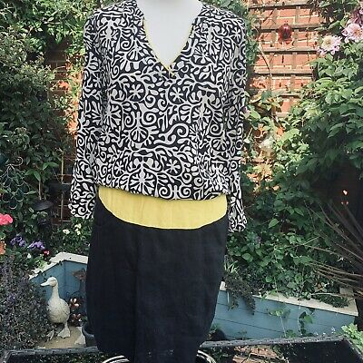 Captain Tortue Designer (Trend) 2 In 1 Printed Top Dress Size 38 (Size 10) BNWT • 24.50£