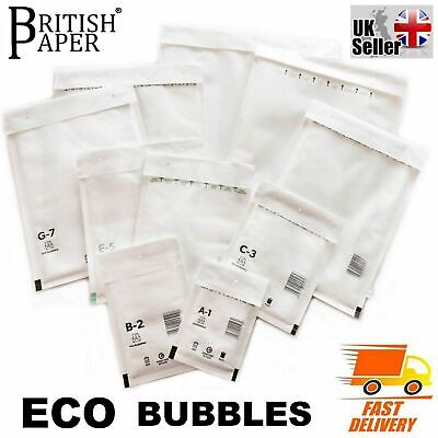 £21.27 • Buy Bubble Padded Envelopes Mail Mailer Bag Lite Small Large A000 A3 A4 A5 A6 D1 Dvd
