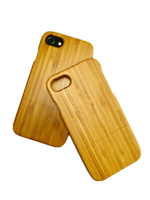Wooden Bamboo IPhone 7 / 8 / SE Case Sustainable • 4.99£