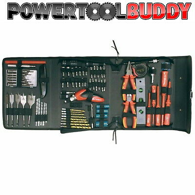 Makita P-51851 96 Pc Electricians Drill Screwdriver Tool Kit Pouch 1000V Rated • 59.95£