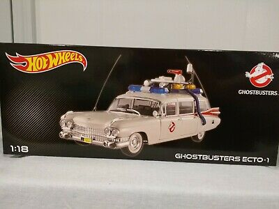 Ghostbusters ECTO-1 1:18 Scale By Hot Wheels (NEW) • 152.74£
