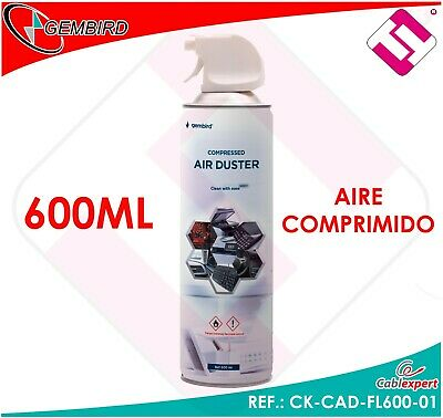Canister Air 600ML Compressed Spray Cleaning PC Laptop Cameras Plates Rework • 23.13£