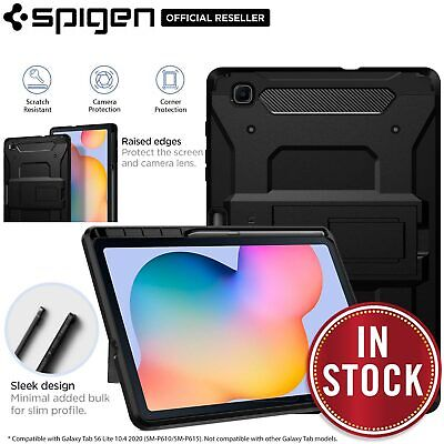 AU74.99 • Buy For Samsung Galaxy Tab S6 Lite Case Genuine SPIGEN Tough Armor Pro Hard Cover