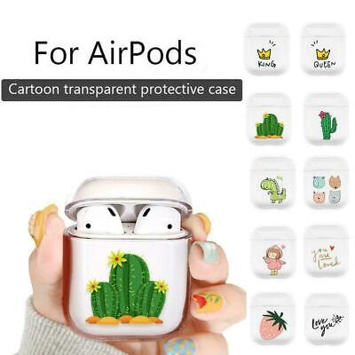 $ CDN4.48 • Buy Clear Plastic Case Cover Holder For Airpods Air Pod Earpods Accessories F2C0