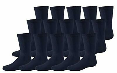 Boys Girls 15 Pairs Ankle Socks Unisex Navy School Childrens Cotton Rich Socks • 4.99£