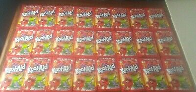 Kool Aid Rock A Dile Red Mix Packets Half Case Of 24 Use By 2016 Limited Edition • 16.93£