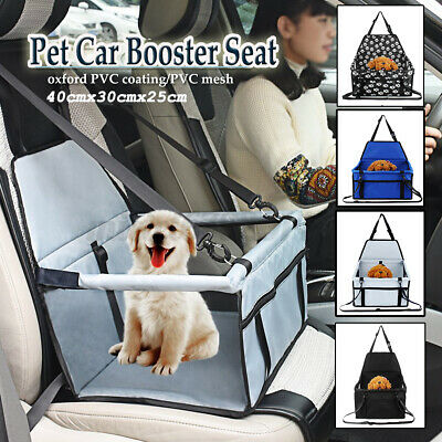 42*42*25CM Large Car Seat Carrier Cat Dog Pet Puppy Travel Cage Booster Belt  • 12.19£
